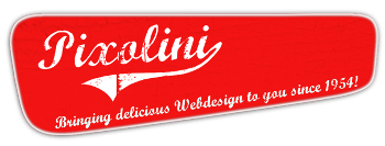Pixolini - Bringing delicious Webdesign to you since 1954!